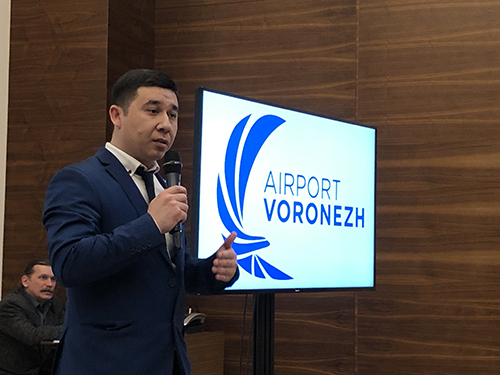 Представитель НАК «Узбекистон хаво йуллари»