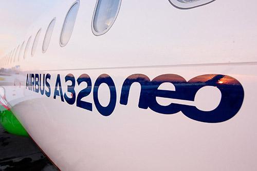 Новейший «Airbus A320neo» НАК «Узбекистон хаво йуллари»