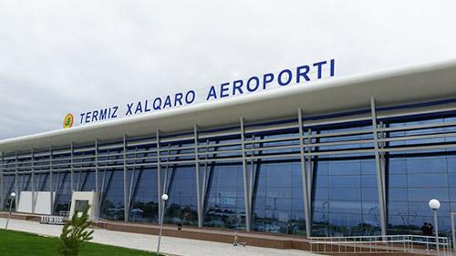 Термезе новый пассажирский терминал