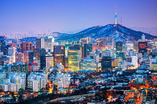 Ташкент — Сеул — Ташкент 28 января и 11 февраля