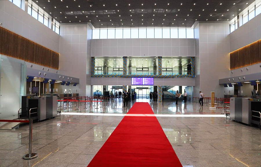 3 сентября 2021 г. в международном аэропорту «Ташкент» им. И. Каримова открылся новый зал вылета с дополнительной площадью для пассажиров международных направлений